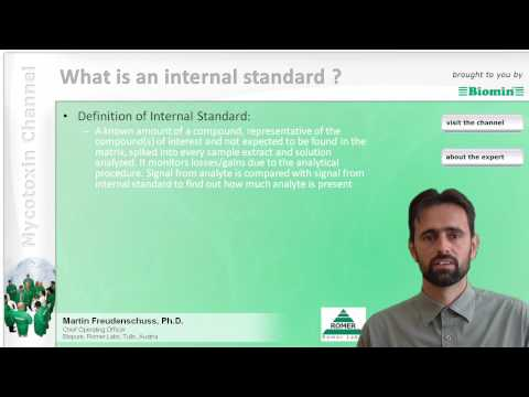 What is an internal standard ?