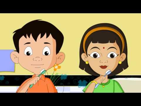 Tooth Brush - Nursery Rhymes - English Animated Rhymes