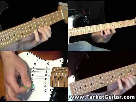 Highway star - Deep Purple - Cover Guitar Lesson Part 4 Solo