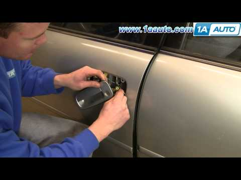 How To Install Replace Front Outside Door Handle Toyota Camry 92-96 1AAuto.com
