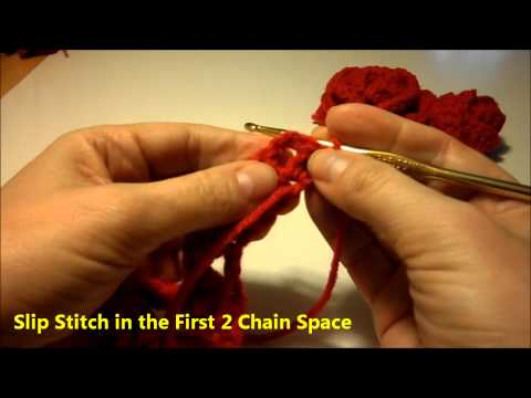 How to Crochet Valentine's Day Roses