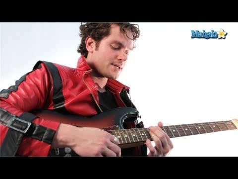 "How to Play The ""Wanna Be Startin' Somethin"" Solo by Michael Jackson on Guitar"