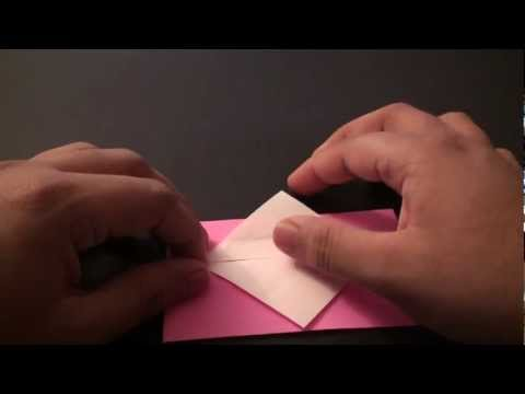 Origami Daily - 159: Heart Envelope (Valentine's Day) TCGames [HD]
