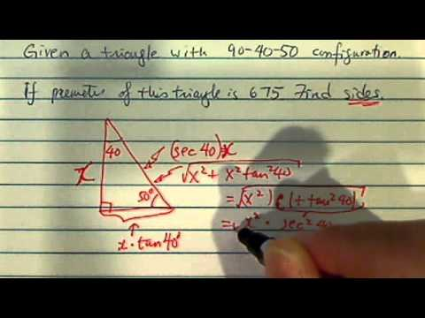 how to solve word problems (trigonometry) ? ???