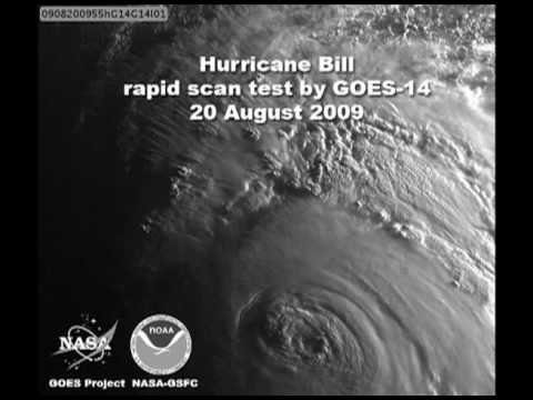 NASA/NOAA | GOES-14 Views of Hurricane Bill