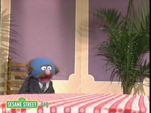 Sesame Street: Grover And Finally A New Waiter!