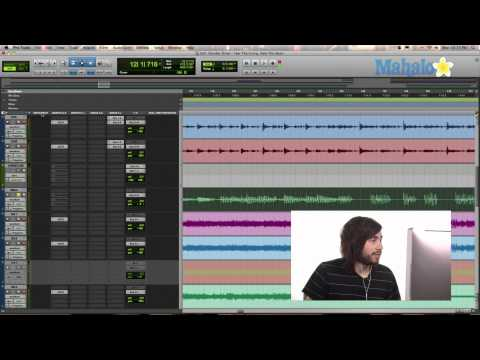 Windows in Track Section - Pro Tools 9