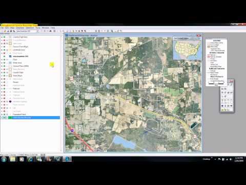 Demonstration 5b: Import An Airphoto or Satellite Image