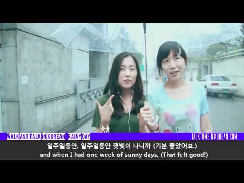 Walk and Talk in Korean - Ep. 6