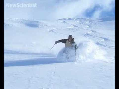 Body sensors capture a skier's twists and turns
