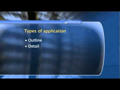 What types of application are there
