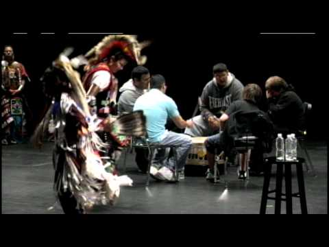 TEDx1000Lakes - Bug O Nay Ge Shig Silver Eagle Drummers and Dancers