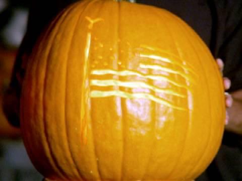 History of Halloween: World's Fastest Pumpkin Carver