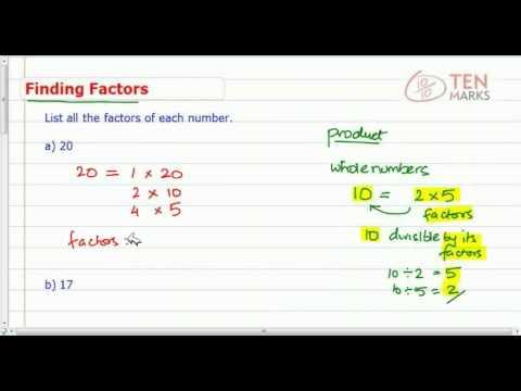 Find Factors of a Number