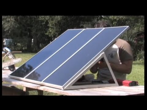 DIY SOLAR PANEL TRAINING PV PHOTOVOLTAIC HARBOR FREIGHT SOLAR ENERGY SOLAR POWER KITS