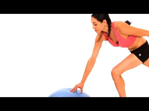 How to Do a Charleston Kick with a Bosu Ball | Exercise Ball Workout