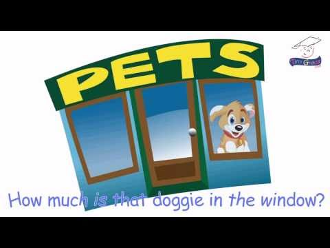 How Much is that Doggie in the Window? Children Sing-along Song