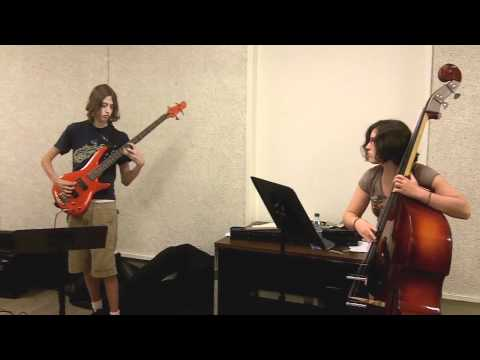 Avery Sharpe's Bass Workshop at Jazz in July UMass 2011