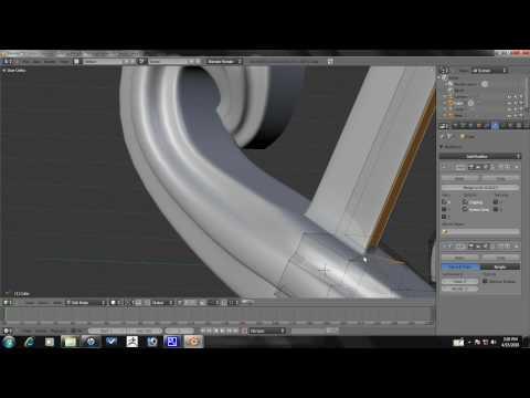 Blender Tutorial - Majestic Sword Modeling Part 3/4