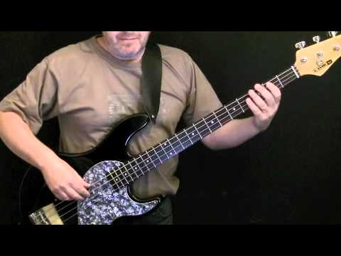 learn how to play bass guitar - people are strange - the doors.m4v