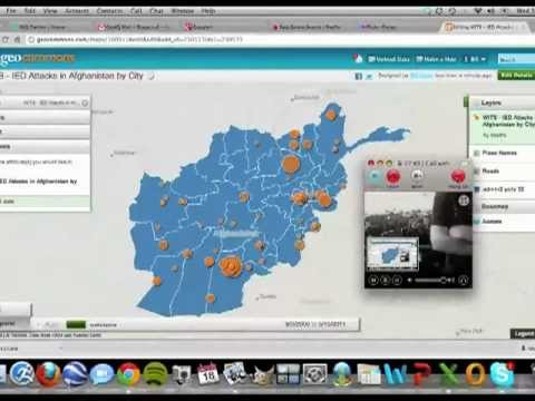 GeoCommons tutorial by Senior Data Scientist at GeoIQ, Bill Greer