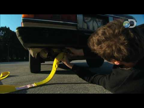 MythBusters - Stopping a Car with Duct Tape Sneak Peek | Duct Tape Hour 2
