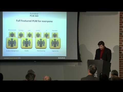 Autodesk 2013 Product Launch Part 4 of 6 -- Lifecycle Management 27 Mar 2012