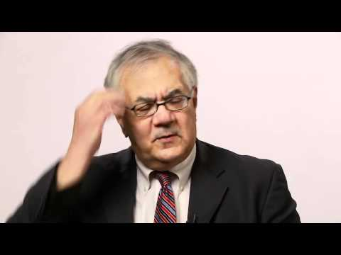 Barney Frank's Vision for Financial Reform