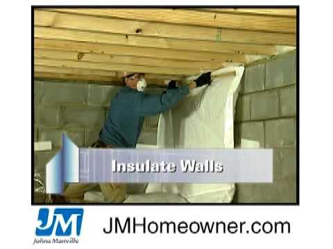 Insulating Unvented Crawl Spaces