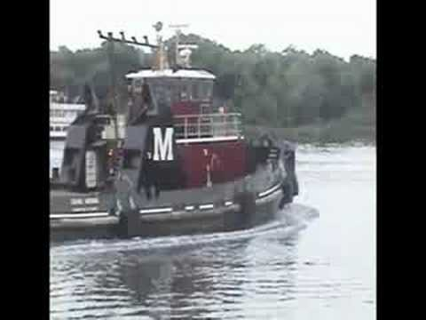Tugboat-A-War - Savannah Georgia Riverstreet