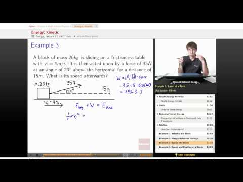 Physics: Kinetic Energy