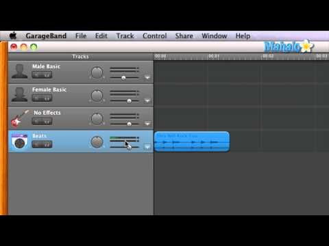 GarageBand Tutorial - Setting up Loops for Tempo