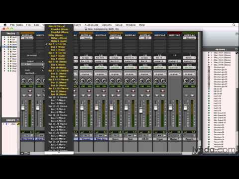 Pro Tools: How to compose with virtual instruments | lynda.com tutorial