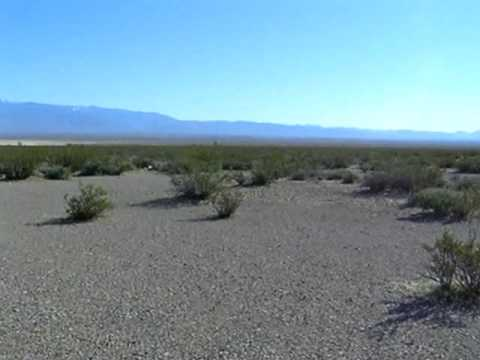 Walking in the desert on the Nevada-California Border