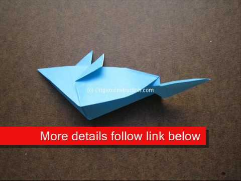 How to Fold Origami Mouse - OrigamiInstruction.com
