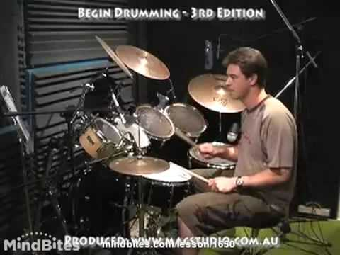 How to Play the Drums: 2 Basic Snare Patterns on a Kit