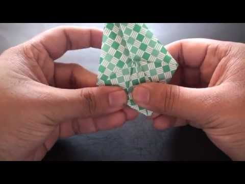 Origami Daily - 198: Crane Bowl (Decorative Snack Dish) - TCGames [HD]