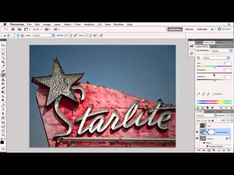How to blend image textures in Photoshop | lynda.com tutorial