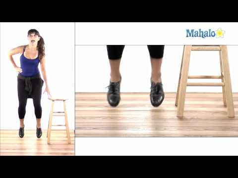 How to Tap Dance: Toe Stand