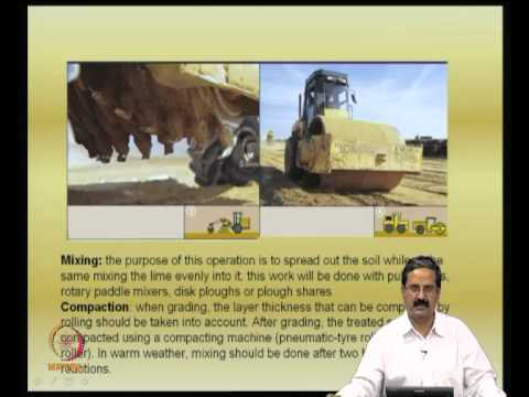 Mod-06 Lec-17 Ground Treatment with lime -- I