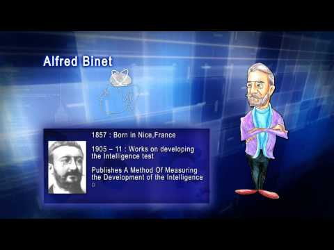 Top 100 Greatest Scientist in History For Kids(Preschool) - ALFRED BINET