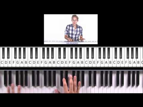 """How to Play """"Don't Stop Believing"""" (Glee Version) on Piano"""