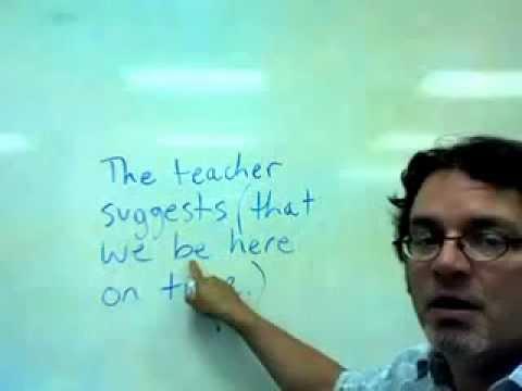 subjunctive mood -- requests