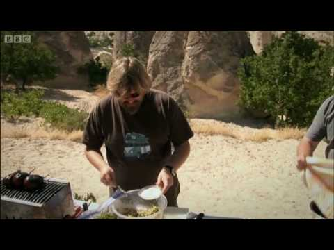 Vegetarian courgette and feta fritters - The Hairy Bikers - BBC
