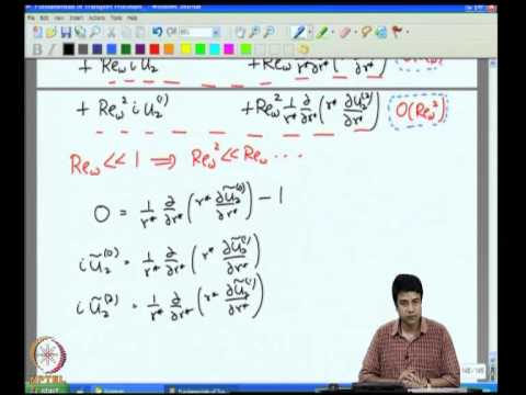 Mod-04 Lec-21 Unidirectional Transport Cylindrical Coordinates - VI