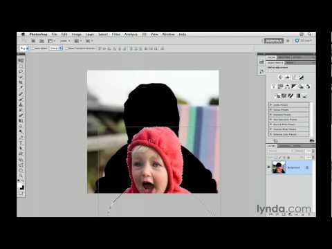 Photoshop CS5: Using the Quick Select tool | lynda.com tutorial