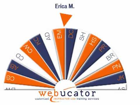 Webucator Student Raffle July 25