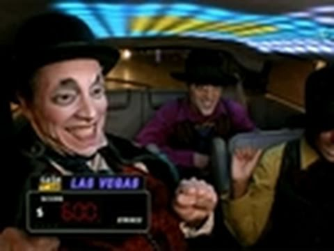 Cash Cab Vegas- Clowning for a Cause