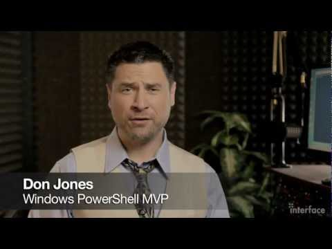 "Windows PowerShell v2 ""Booster"" and v3 ""Sneak Peek"" with Don Jones - Interface Technical Training"
