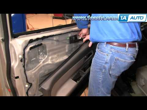How To Install Replace Front Door Panel 2004-12 Chevy Colorado